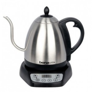 Bonavita variable temperature electric pour over coffee kettle