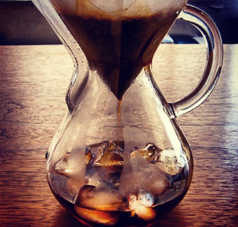 iced pour over coffee 4