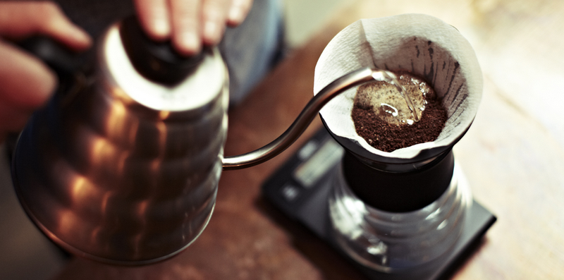 How to clean pour over coffee maker