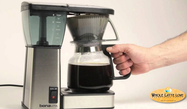 bodum automatic pour over coffee maker instructions