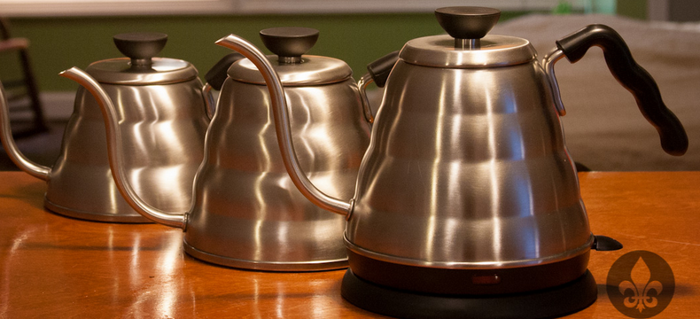Hario electric pour over coffee kettle