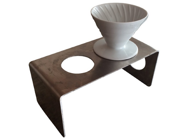 Modern pour over coffee stand