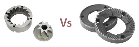 Conical burr grinder vs flat burr grinder