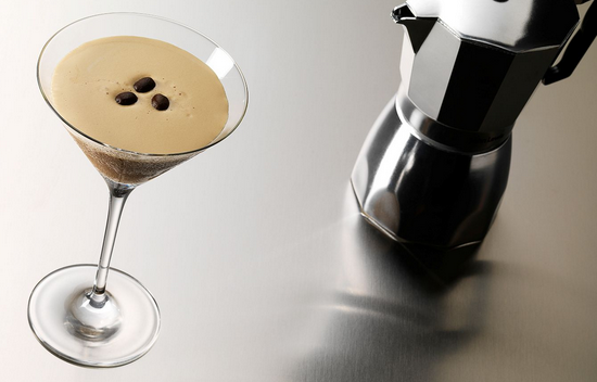 Creamy espresso martini with Baileys recipe