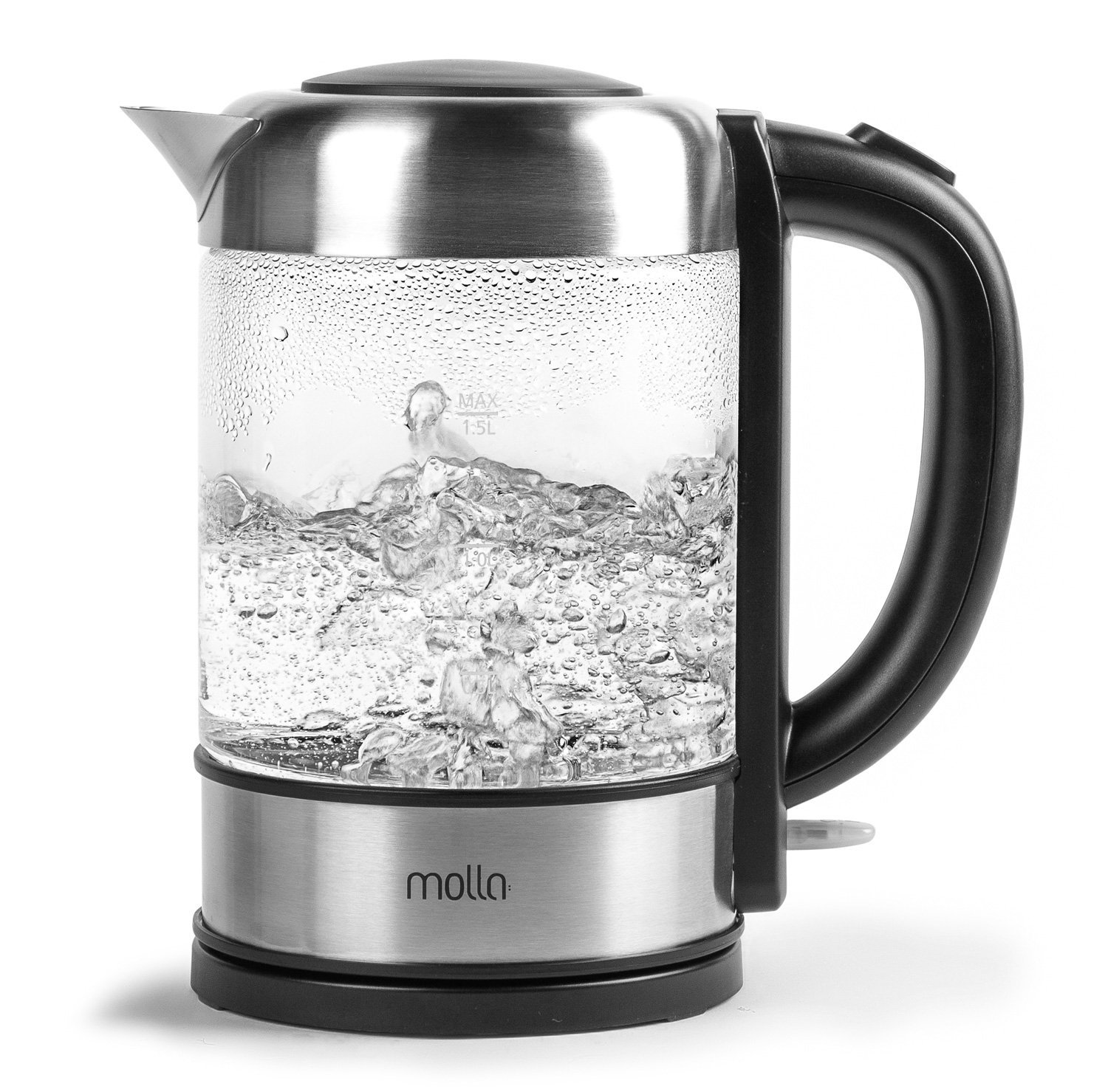 Molla glass kettle with temperature control