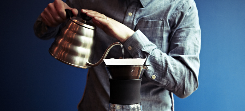 What is the perfect pour over coffee ratio?