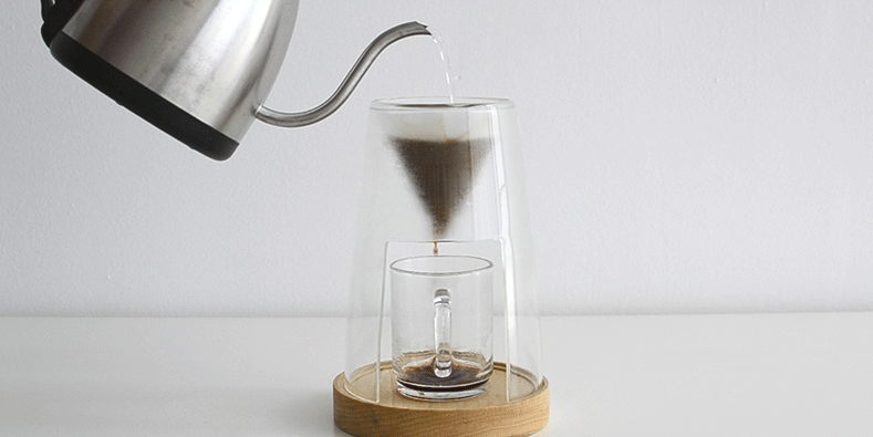 How to use pour over coffee maker