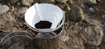 Pour over coffee maker for camping